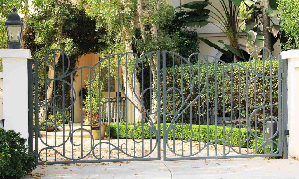 steel bifold gate